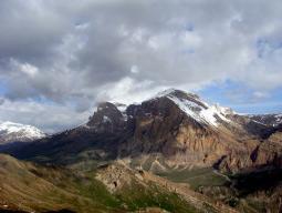 гора Шахдаг с птичьего полета