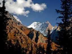 Вид на гору Текетор с подножия