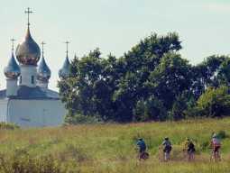 Велотур по Золотому Кольцу России