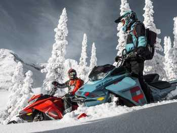 По Уралу на снегоходах
