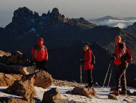 Восхождение на Килиманджаро и гору Кения